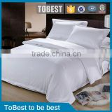 Plain White 100% Egyption Pure Cotton Hotel Bedding Sets/Hotel linen/Bed Sheets                                                                         Quality Choice