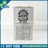 Compressor Coolant Gas R407c 99.9% purity