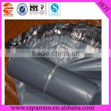 grey dhl ups plastic mail packaging bag with seal adhesive tape
