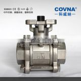 Stainless steel threaded 3 inch solenoid valve