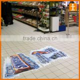 Custom Good Quality Full Colour Print Anti Slip Scratch Resistant Floor Stickers Footprints