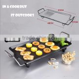 2015 New Arrival With Flat Hot Teppanyaki Table Top Pancake Maker Plate Electric Grill