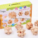 Wooden puzzle Luban Lock kids adult toys