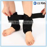 Aluminum bars padded lace up ankle support Foot immobilizer Foot splint / ankle brace