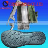 2013 new fashion PU Sole Mould made by aluminium material used for making slipper outsoles
