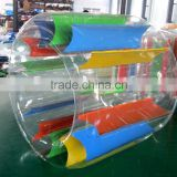 TPU Inflatable water float toy swimming pool water baby roller