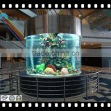 cylindrical acrylic fish tank on sale