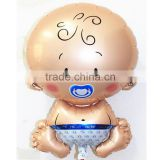 47*71cm baby boy helium foil balloons for baby birthday supplies balloon angle baby pacifier ballons                                                                         Quality Choice