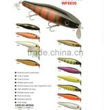 9+ years Wholesaler & OEM Manufacturer ,Hirun fishing tackle,vivid swim action crank bait wood lures WF6030