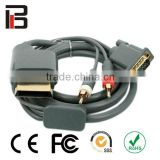 Hot item Premium VGA Cable HDAV Digital Optical Audio Port for Microsoft Xbox 360 Xbox 360 Slim