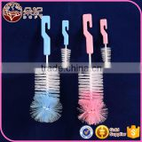 Factory supply Eco-Friendly bottle cleaning brush , PP and nylon baby bottle brush                                                                         Quality Choice