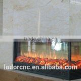 3 sided cheap and good quality electric fireplace