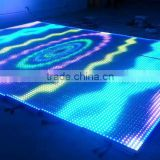 Wholesale Price LED Video Dance Floor 50X50cm For Sale 3D Effect DMX Stage Lighting Christmas Decorative Disco Club Party