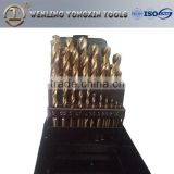 high precision fully ground M35 drill bit set, cobalt drills for stainless steel