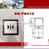 2014 latest hot product high quality stainless steel surface infrared exit button/elevator push button/SN-PB510