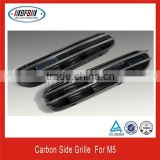 ONE PAIR CARBON FIBER FRONT SIDE REPLACE VENT FOR BMW M5