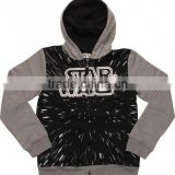 Fleece Hoodies Custom Printing Hodded Sweatshirts/ Cotton Hoody Mens Black Color Hoodies