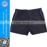 Good elactic breathable comfortable mature men beachwear cheap men's swimwear
