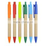 Colorful paper Promotional Ball pen ,Environmental protection ball pen