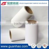 oil resistant laminated thermal label printing paper for luggage labels