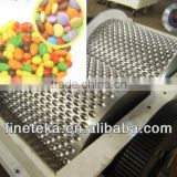 Chocolate Dragee Lentil M&M Smarties Beans Balls Eggs Twin Rolls Rolling Forming Machine Line