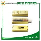 64GB Gold Bar USB 2.0 Flash Memory Stick Storage Thumb Key Pen Drive Disk-A