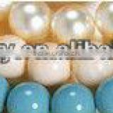 Professional custom and wholesale various colors and various shapes south sea shell pearl necklace DIY beads