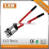 LSD High Quality10years LX-120B non-insulated cable links 10-120mm2 heavy duty Copper Y.O tube terminal electrical crimping tool