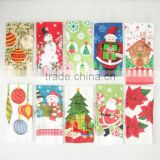 Christmas kitchen towel print cotton tea towel dish towel china supplier kitchen textiles buying in bulk wholesale
