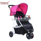900D Polyster Foldable Baby Doll Carriage/ High End Infant Stroller Pushchair Portable Pram