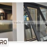 Australian standard AS2047 AS/NZS2208 AS1288 aluminum profile wind out window Top hung windows