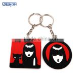 cartoon character compact key holder
