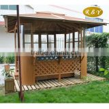 garden wooden outdoor bar gazebo