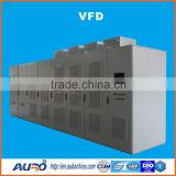 AC to DC to AC inverter meddium & high voltage frequency converter VFD for motor 6kv 630kw