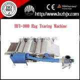 nonwoven textile waste recycling machine