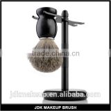 Premium Badger Hair Holy Luxury Black Shaving Kit, Black shaving brush, Best Christmas Gift for Men