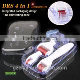 Hot product! 4 in 1 derma roller micro needle hair loss therapy machine meso roller Micro Needle Roller