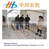 hot sale broiler automatic farm equipment feeding pan system/chicken feeding line price for sale