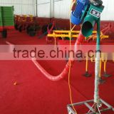 farm machine vehicle mounted grain suction with 4 inch soft tube