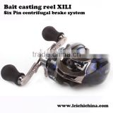 In stock centrifugal brake system bait casting fishing reels made in China