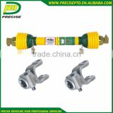 agricultural flexible pto drive shaft and parts for grass mower brush cutter with CE certificate