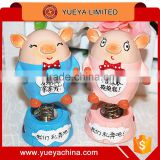 lovely car decoration piggy lovers tumbler Automotive upholstery