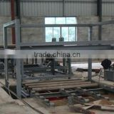 Full automation particle board making line/cross cutting saw