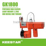 Keestar GK1800 portable jute/powder bag closing machine