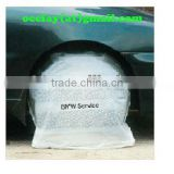 disposable plastic car wheel bags/cover