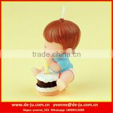 Beautiful Pray Boy With Birthday Cake Candle Decoration Kids