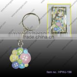 wedding gift A riot of colours buttons creative key ring