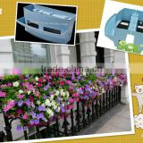 Decorative metal window box plantersSL-XA5060, garden wire planter, garden metal wheelbarrow planters
