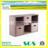 SFM3-20150522-14 Wholesale Furniture PE Rattan Modern Storage Cabinet