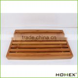 Bamboo Crumb Catcher Tray Bread Slicer Homex BSCI/Factory